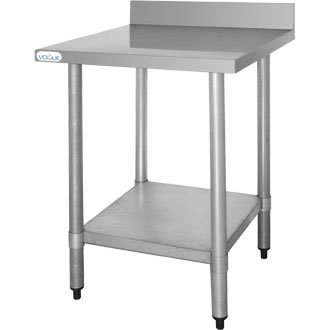 Vogue T379 mesa de acero inoxidable
