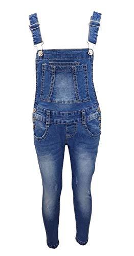 Girls Fashion Girls Fashion Tolle Jeans Latzhose für Mädchen, Gr. 98/104, M3121.4