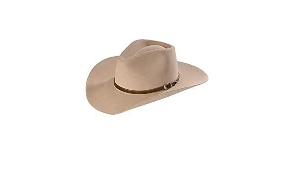 Buy Stetson Men s 4X Buffalo Felt Seneca Pinch Front Western Hat Silver  Sand 6 7 8 Online at Low Prices in India - Amazon.in b6db8c4be709