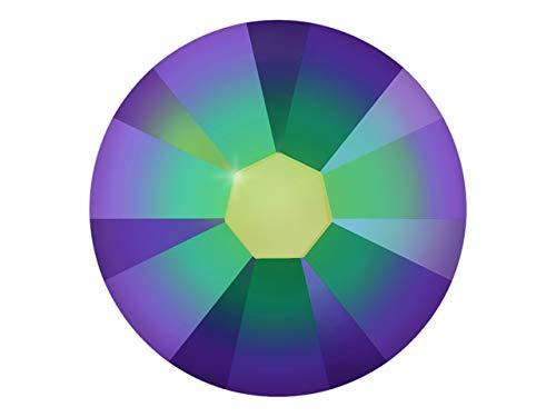 100 Nail Art Kristalle - SWAROVSKI® Crystal - XILION Rose - Flat Back No Hotfix - Nagel-Design Strass Steine zum Aufkleben - crystal - scarabaeus green 1.75mm -