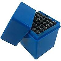 Trade Oxford–Punzones numeratori letras + números + símbolos & 36piezas de 8mm