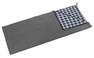 Berger Deckenschlafsack Fleece Comfort, grau, Maße (LxB): 210 x 80 cm -