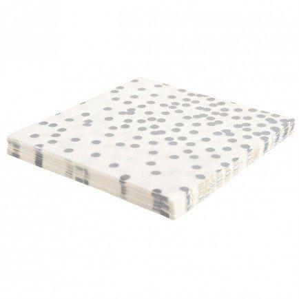 20 Schicke elegante Papier-Servietten aus der Serie
