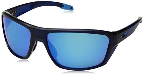 Ray-Ban Herren 0OO9416 Sonnenbrille, Schwarz (Matte Translucent Blue), 64