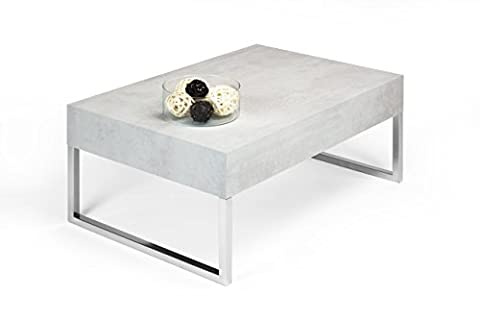 Table Basse 90x60 - mobilifiver Evo Xl Table de salon, bois,