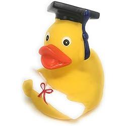 MC Trend diplomente Académico Bachmann elor Patito quietscheente con graduación y Birrete para Comprobar el Abi Abitur universitarios Uni VUZ Ingeniosamente Originales y