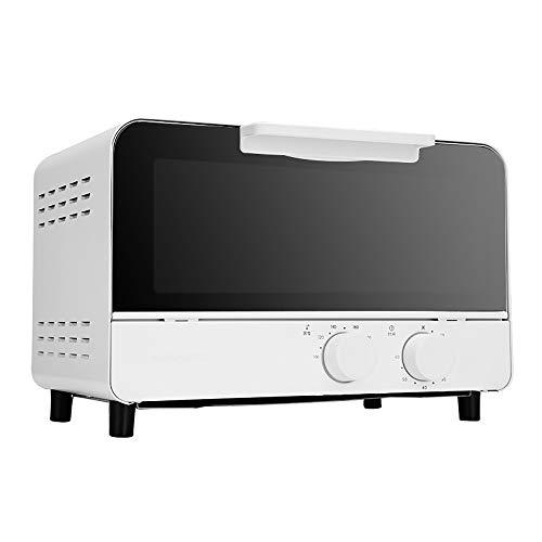 Mini Horno y Parrilla 12L, Cocina eléctrica multifunción, Control de Temperatura y...