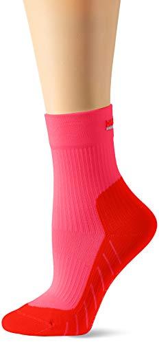 Hudson Damen Sportsocken Move Compression, Pink (Kiss 0437), (Herstellergröße:35/38) -