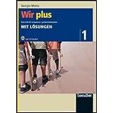 Wir plus. Esercizi di recupero e potenziamento. Mit Losüngen. Con CD Audio. Per la Scuola media: 1