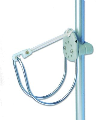 Halterung für Rettungsring / Hufeisenrettungsring für Rohre von 22 - 25 mm geeignet -
