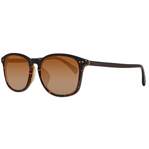 Timberland tb9066f-5605d, occhiali da sole uomo, nero (black/smoke polarized), 56