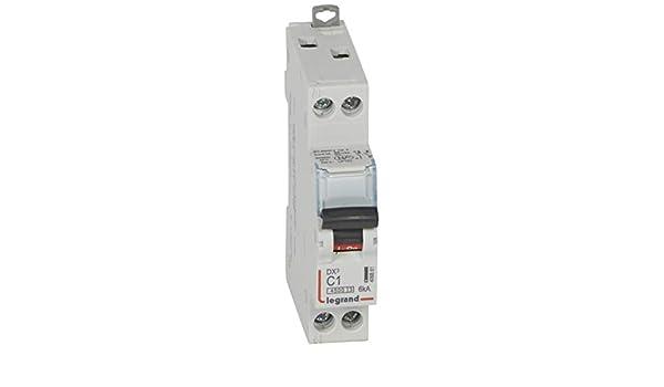 Blanc 50//60/Hz Courbure C Schneider electric a9/F74101/iC60/N disjoncteur 1p 1/A acti9