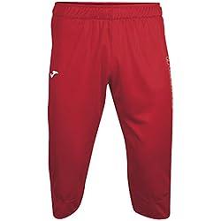 Joma. Pantalón pirata para hombre, ideal vela, rojo.