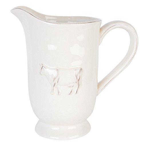 Luxus Nordic Kuh groß Wasser Krug Milchkännchen Glasur creme Latte