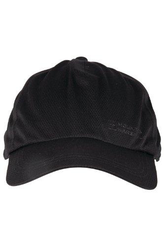 mountain-warehouse-waterproof-cap-breathable-hiking-walking-visor-hat-running-tennis-adjustable-blac