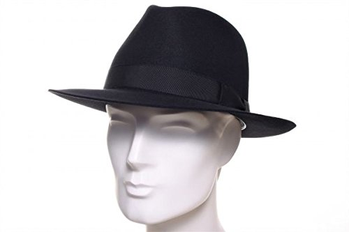 Stetson Homme Chapeau Fedora Penn noir