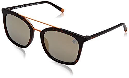 Timberland tb9169 occhiali da sole, dark havana/smoke polarized, 53 uomo