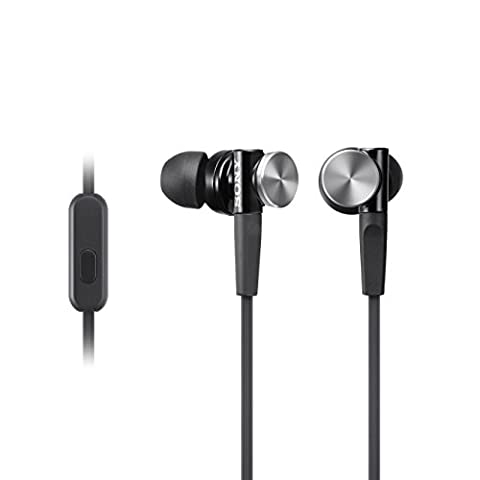 Sony MDR-XB70APB Ecouteurs Intra-auriculaires Extra Bass avec Microphone -