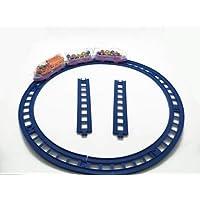 Upvas 13 Pcs Transparent Train Toy Set for Children(Minimum Age 3 Yrs) (Multicolor)