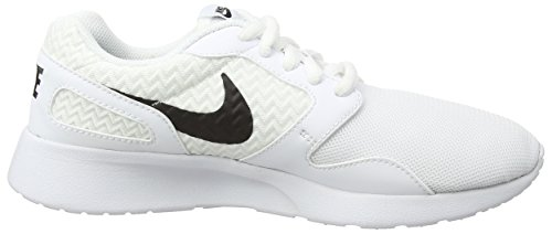 Nike Kaishi, Baskets Basses Femme Blanc (White/Black/White)