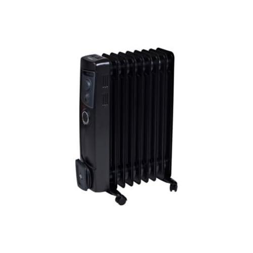Dimplex OFC2000TiB Oil Filled Radiator, Steel, 2000 W, Black