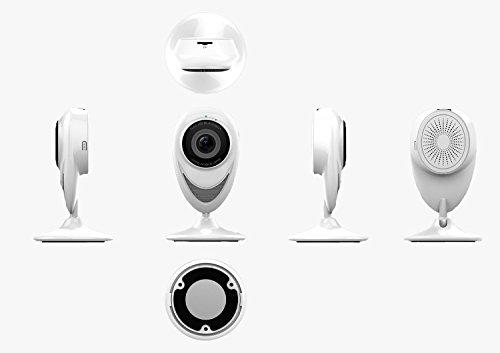 Sicherheitskamera Unsichtbar Überwachungskamera Wifi Kamera Outdoor Dome Kamera Wlan Aussen Die neueste 180-Grad-Panorama-Wireless-Card-Maschine Weiß - Nacht / Tag EC8Q10