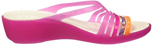 Crocs Isabellaminwdg, Ciabatte Donna Rosa (Party Pink/Candy Pink)