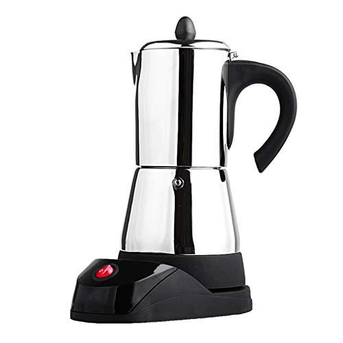 Fenteer Cafetière Électrique INOX Machine à Café Expresso Couvercle Rabattable Durable - 6 Tasses