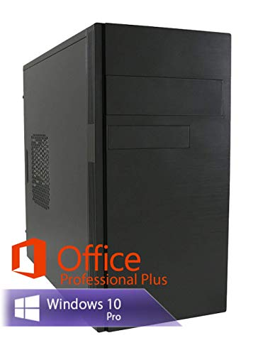 Ankermann Multimedia Work PC Intel Dual Core 2X 2.90 Ghz Garantie HD Graphic 16GB RAM 480GB SSD 1000GB HDD Windows 10 Leise Office Professional