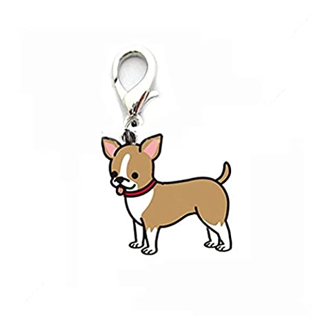 Transer® Dog Tag Pendant, Puppy Round Bone Lovely Pet Jewelry