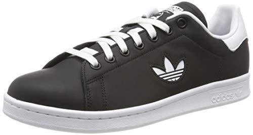 adidas Herren Stan Smith Gymnastikschuhe, Schwarz (Core Black/Ftwr White/Core Black Core Black/Ftwr White/Core Black), 46 EU