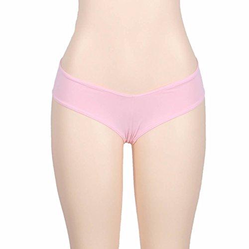 E-Girl 2er Pack G5068 Damen String Panties Hipster Rosa