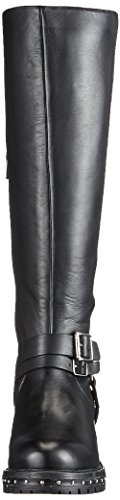 Bronx Bx 1417 Bnew-falkox, Bottes Cavalières femme Schwarz (Black/Silver)