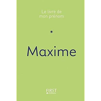Le Livre de mon prénom - Maxime 46