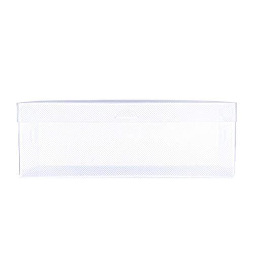 Lailongp 10 unidades de cajas de zapatos transparentes para el hogar se pueden apilar.