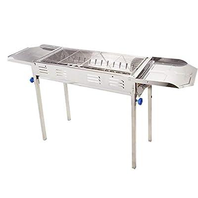 Barbecue Holzkohlegrill Hausgartengrill Picknickgrill-Werkzeuge Outdoor-Mehrzweckgrill Geeignet Für 5-15 Personen