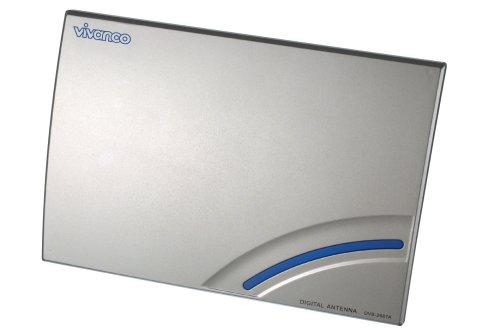 Vivanco DVBA 40 aktive DVB-T Zimmerantenne UHF / VHF, 23 dB Verstärkung Cinch-indoor-antenne