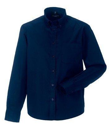 Russell Collection -  Camicia Casual  - Con bottoni  - Maniche lunghe  - Uomo Black