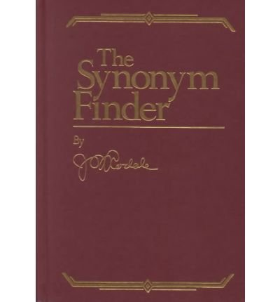 [(The Synonym Finder)] [Author: J.I. Rodale] published on (September, 1996)