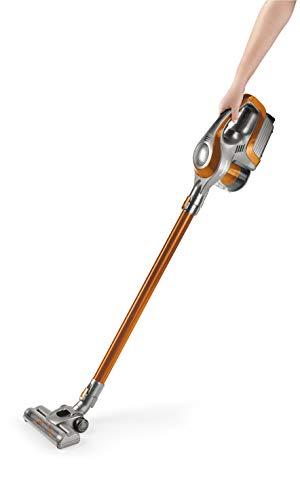 Clean Maxx Akku-Handstaubsauger 14.8V Orange, Silber