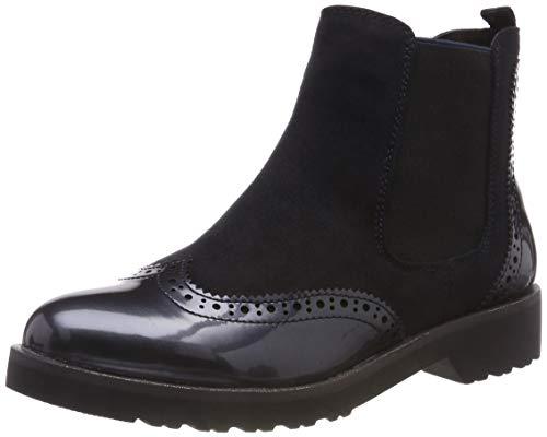 MARCO TOZZI Damen 25496-21 Chelsea Boots Blau (Dk.Navy Comb 888) 41 EU