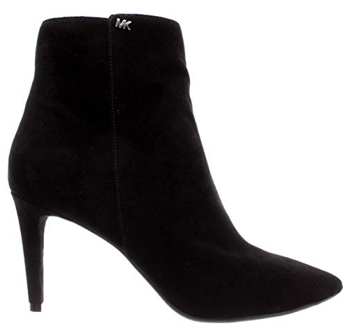 Michael Kors Chaussures Femme Bottes Dorothy Flex Mid Bootie Suede Black Nouveau