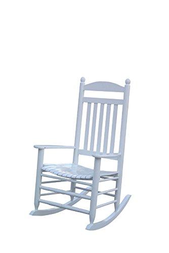 1PLUS Klassischer Schaukelstuhl aus Massivholz auch ideal zum Stillen in versch. Ausführungen (Creme, Paolo)