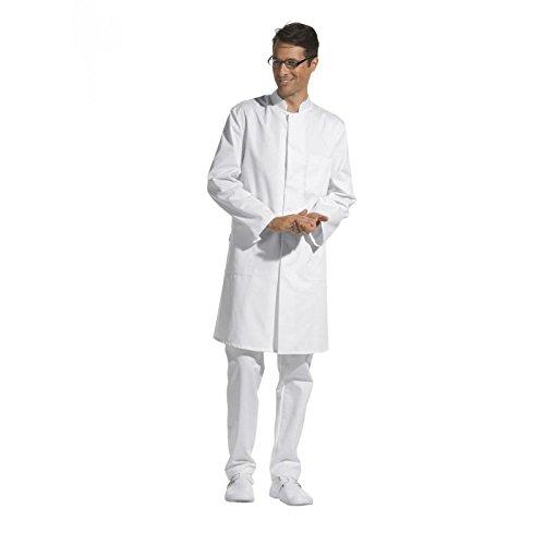Leiber - Camice da uomo, colore: bianco