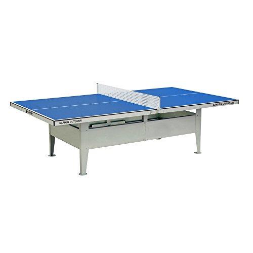 Garlando Tavolo da Ping Pong Garden Outdoor Per Esterno Blu