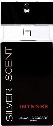 Jacques Bogart Silver Scent Intense For Men - Eau de Toilette, 100 ml
