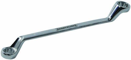 Silverline 447826 Deep Offset Ring Spanner 21 x 23 mm