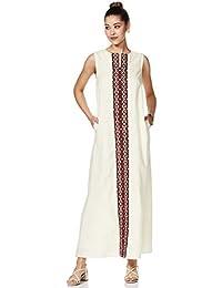 Amazon Brand - Myx Cotton a-line Dress