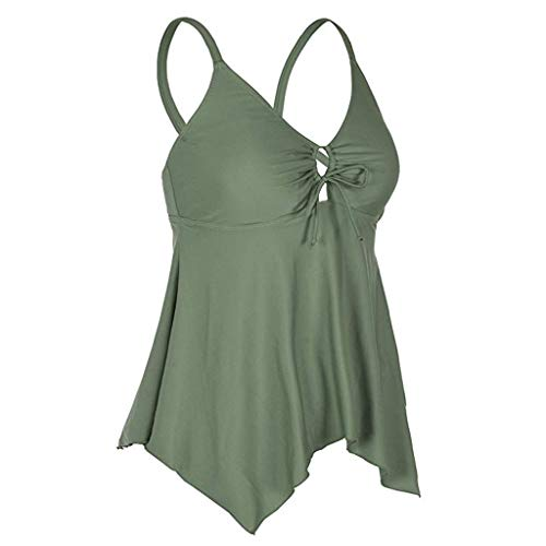 Frauen Sommer Casual T Shirt Kleider Strand vertuschen Mode Frauen Flowy Badeanzug Bademode Bikini Crossback Plus Size Tankini Top