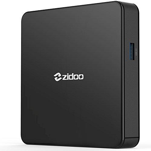 TV Box Android 7.0 Zidoo X7 Media Player con Quad Core 2GB/8GB Wireless Wifi Dual Band AC 4K HDR USB 3.0